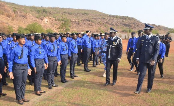 Police nationale, sous officiers, Mali,