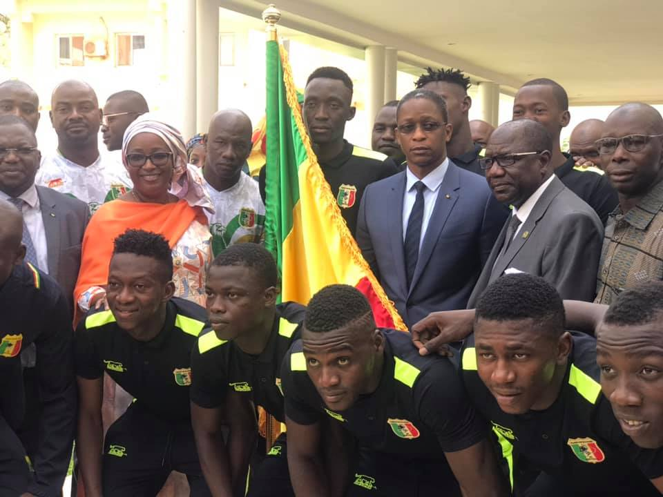 Football, Aiglons, Arouna Modibo Touré, IBK; Mali,
