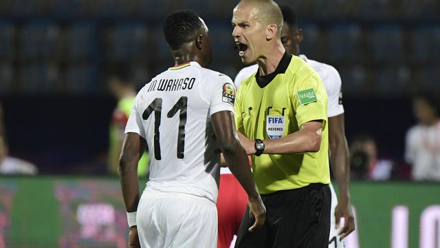 CAN 2019, Arbitre Sud Africain, Victor Gomes, CAF, FIFA,